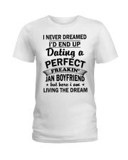 BOYFRIEND - JAN Ladies T-Shirt thumbnail
