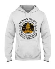 DEZEMBER-MANCHEN Hooded Sweatshirt front