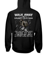 GRUMPY OLD MAN-HTV Hooded Sweatshirt back