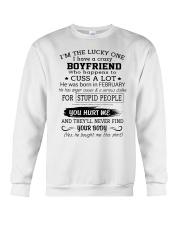 BOYFRIEND - FEBRUARY Crewneck Sweatshirt thumbnail