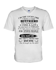 BOYFRIEND - FEBRUARY V-Neck T-Shirt thumbnail