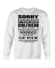GIRLFRIEND-SORRY Crewneck Sweatshirt thumbnail