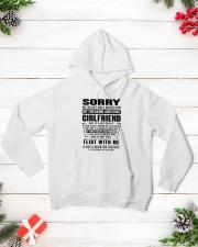 GIRLFRIEND-SORRY Hooded Sweatshirt lifestyle-holiday-hoodie-front-3