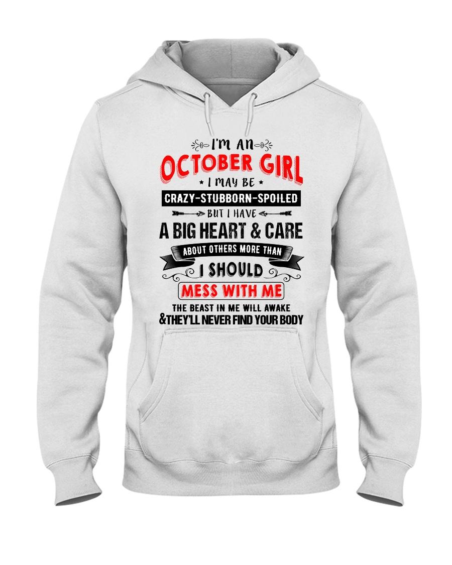 CRAZY GIRL 10 Hooded Sweatshirt