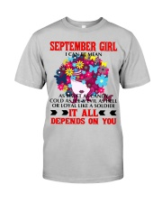 I CAN BE MEAN SEPTEMBER Classic T-Shirt thumbnail