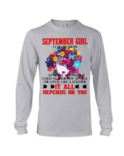 I CAN BE MEAN SEPTEMBER Long Sleeve Tee thumbnail