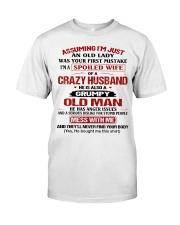 AN OLD LADY-HTV Classic T-Shirt thumbnail