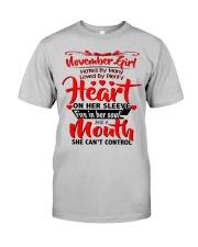 NOVEMBER GIRL Classic T-Shirt thumbnail