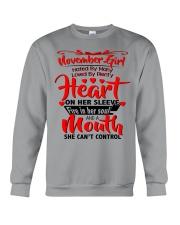 NOVEMBER GIRL Crewneck Sweatshirt thumbnail