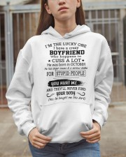 BOYFRIEND - OCTOBER Hooded Sweatshirt apparel-hooded-sweatshirt-lifestyle-07
