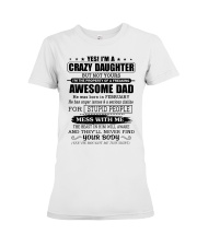 AWESOME DAD - 2 - DTS Premium Fit Ladies Tee thumbnail