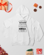 BOYFRIEND - AUGUST Hooded Sweatshirt lifestyle-holiday-hoodie-front-2
