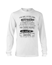 BOYFRIEND - AUGUST Long Sleeve Tee thumbnail