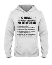 5 THING BOYFRIEND 5 - DTS Hooded Sweatshirt front