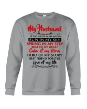 MY HUSBAND Crewneck Sweatshirt tile