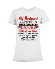 MY HUSBAND Premium Fit Ladies Tee tile