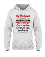MY HUSBAND Hooded Sweatshirt thumbnail