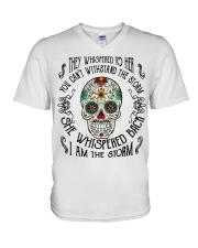 I AM THE STORM - NKT V-Neck T-Shirt thumbnail