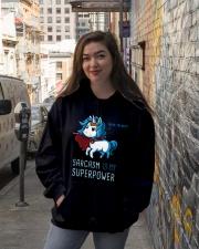 SARCASM IS MY SUPERPOWER Hooded Sweatshirt lifestyle-unisex-hoodie-front-1