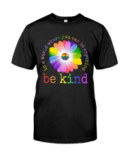 BOOM - BE KIND Classic T-Shirt front