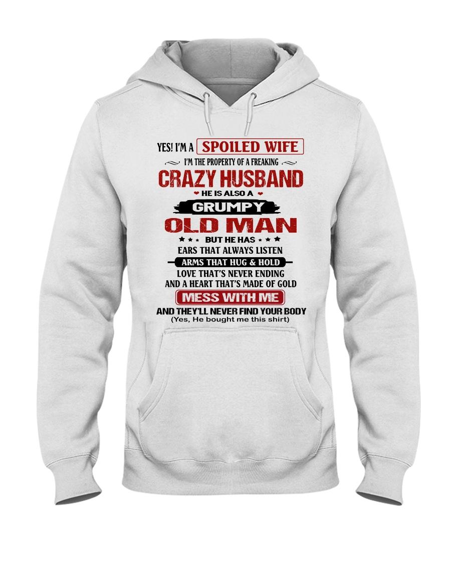 SPOILED WIFE-HTV Hooded Sweatshirt