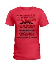 SPOILED WIFE-HTV Ladies T-Shirt thumbnail