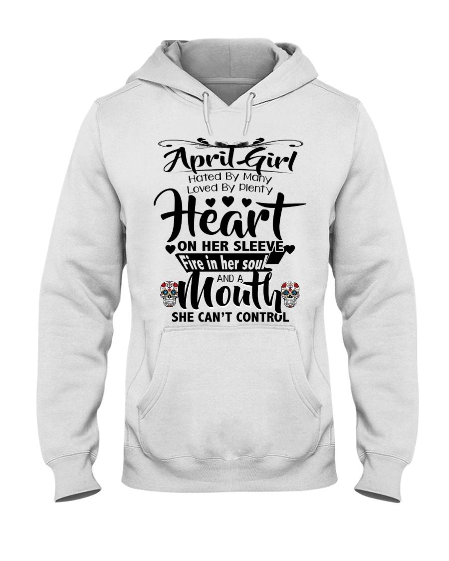 APRIL GIRL Hooded Sweatshirt
