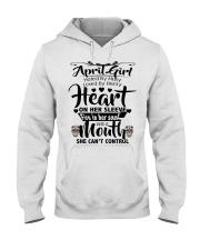 APRIL GIRL Hooded Sweatshirt front
