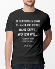 WO ICH WILL Classic T-Shirt lifestyle-mens-crewneck-front-13
