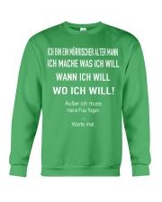 WO ICH WILL Crewneck Sweatshirt thumbnail
