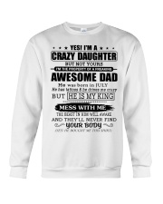 AWESOME DAD 7 - TATTOOS Crewneck Sweatshirt thumbnail