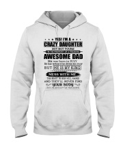 AWESOME DAD 7 - TATTOOS Hooded Sweatshirt front