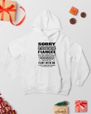 FIANCEE-SORRY Hooded Sweatshirt lifestyle-holiday-hoodie-front-2