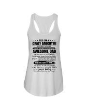 AWESOME DAD - 12 - DTS Ladies Flowy Tank thumbnail