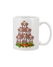 cup boxer christmas Mug front