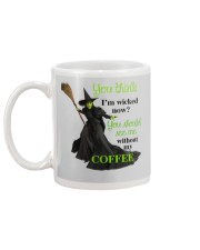 Funny - Best gifts for Halloween and Christmas Mug back