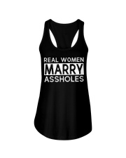 Real Woman Marry Ladies Flowy Tank thumbnail