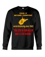 Nation Champions Social Distancing Crewneck Sweatshirt thumbnail