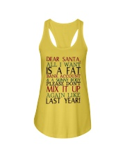 Dear Santa - My Crazy Page Ladies Flowy Tank thumbnail