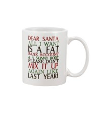 Dear Santa - My Crazy Page Mug tile