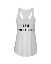 I am Everything Ladies Flowy Tank thumbnail