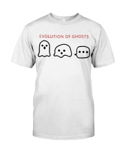 Evoluyion of ghots Classic T-Shirt thumbnail