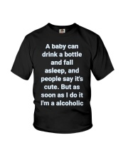 A Baby can drink milk Youth T-Shirt thumbnail