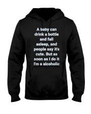 A Baby can drink milk Hooded Sweatshirt thumbnail