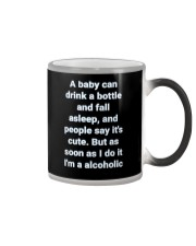A Baby can drink milk Color Changing Mug thumbnail