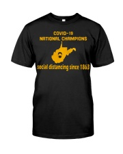 Nation Champions Social Distancing Classic T-Shirt front
