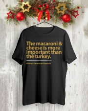 The Macaroni  and Cheese Classic T-Shirt lifestyle-holiday-crewneck-front-2