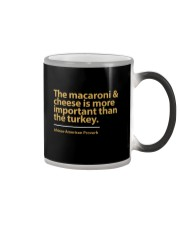 The Macaroni  and Cheese Color Changing Mug thumbnail