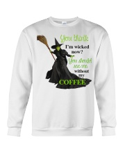 Funny - Best gifts for Halloween and Christmas Crewneck Sweatshirt thumbnail