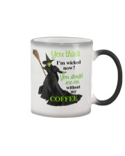 Funny - Best gifts for Halloween and Christmas Color Changing Mug thumbnail